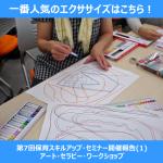 【第7回保育スキルアップ・セミナー開催報告(1)】病児の心に寄り添うアート体験 アート・セラピー・ワークショップ2014