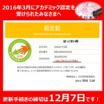 【2016年3月にアカデミック版認定を受けられた方へ】更新手続きの締切は12月7日(水)です