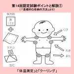 【体温測定とクーリング】第14回認定試験のポイントと解説①(「基礎的な看病の方法より」)